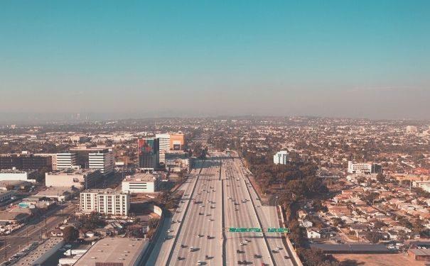 Image of USA freeway